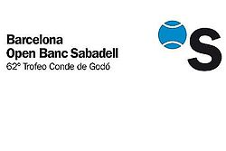 "Logo des Turniers ""Barcelona Open BancSabadell"""