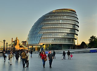 City Hall, London building in the London Borough of Southwark, UK