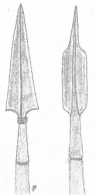Ox tongue spear - Image: Longues De Beauf