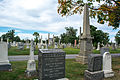 Looking NNW across section A - Glenwood Cemetery - 2014-09-14.jpg