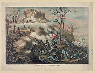 Battle of Lookout Mountain Battle of the American Civil War
