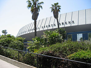 1960 Democratic National Convention - The Los Angeles Memorial Sports Arena (pictured in 2007) was the site of the 1960 Democratic National Convention