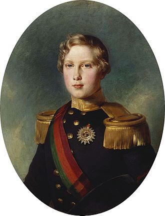 Duke of Porto - Image: Louis I, King of Portugal, when Duke of Orporto Winterhalter 1854