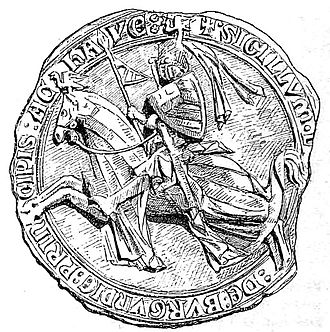 Louis of Burgundy - Seal of Louis