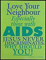 Love your neighbour especially those with AIDS Wellcome L0054445.jpg