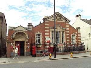 Royal Mail - Lower Edmonton Royal Mail sorting office, in London