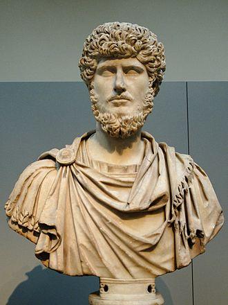 Reign of Marcus Aurelius - Lucius Verus, Aurelius' co-emperor from 161 to Verus' death in 169, British Museum