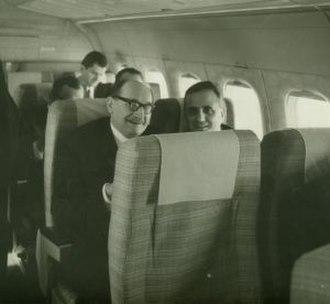 Stefan Wiechecki - Wiechecki (left) in 1972