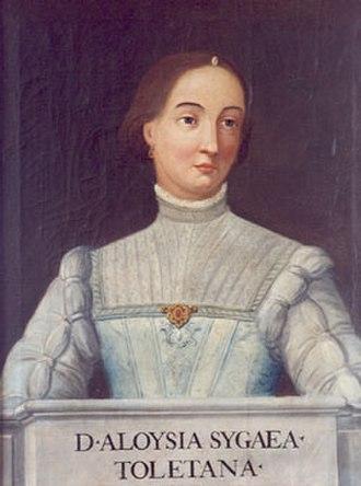 Luisa Sigea de Velasco - Image: Luisa Sigea de Velasco