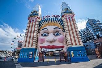 Luna Park Sydney - The Luna Park face in 2018