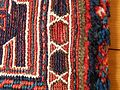 Luristan Soumak bag detail of pile carpet edge.JPG