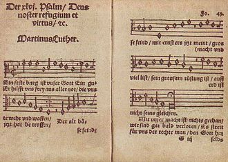 Psalm 46 - Image: Luther Lied 1