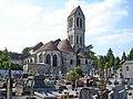 Luzarches - Église Saint-Côme-Saint-Damien - Chevet et cimetière 01.jpg