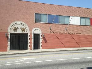 Lycée Français de Los Angeles - Le Lycée Français de Los Angeles Century City Campus, Pico Blvd.