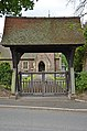 Lychgate to Church of Saint Mary Magdalene Tallern Green.jpg
