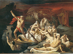 Charon (mythology) - A 19th-century interpretation of Charon's crossing by Alexander Litovchenko