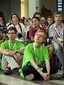 Młodzi wierni podczas uroczystej mszy św. (9528532215).jpg
