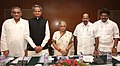 M. Veerappa Moily chaired a meeting with the Chief Ministers and Power Ministers of North Indian States to discuss the power situation, in New Delhi. The Chief Minister of Delhi, Smt. Sheila Dikshit, the Chief Minister.jpg