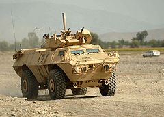 M1117 Armored Security Vehicle w Afganistanie