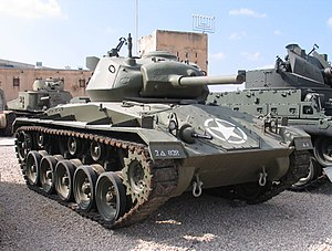 Tanks of the U.S. in the Cold War - M24 Chaffee