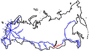 Baikal Highway - Image: M55 karte RF