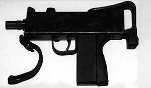 MAC-11 - The MAC-11A1 without a magazine and the stock folded