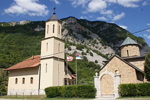 Drvar - Rmanj Monastery from late 15th century