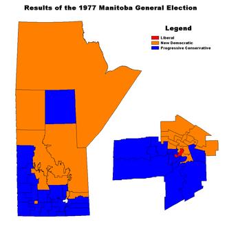 Manitoba general election, 1977 - Image: MB1977