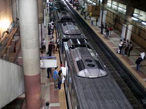 Ayala MRT station - Image: MRT3Ayala Station Platform 1