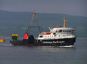 MV Juno leaving Rothesay