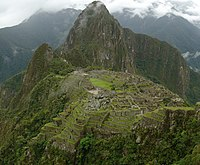 Machu Picchu mosaic picture - december 2006.JPG