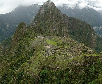 Machu Picchu mosaic picture - december 2006.JPG
