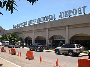 Cebu - Mactan-Cebu International Airport.