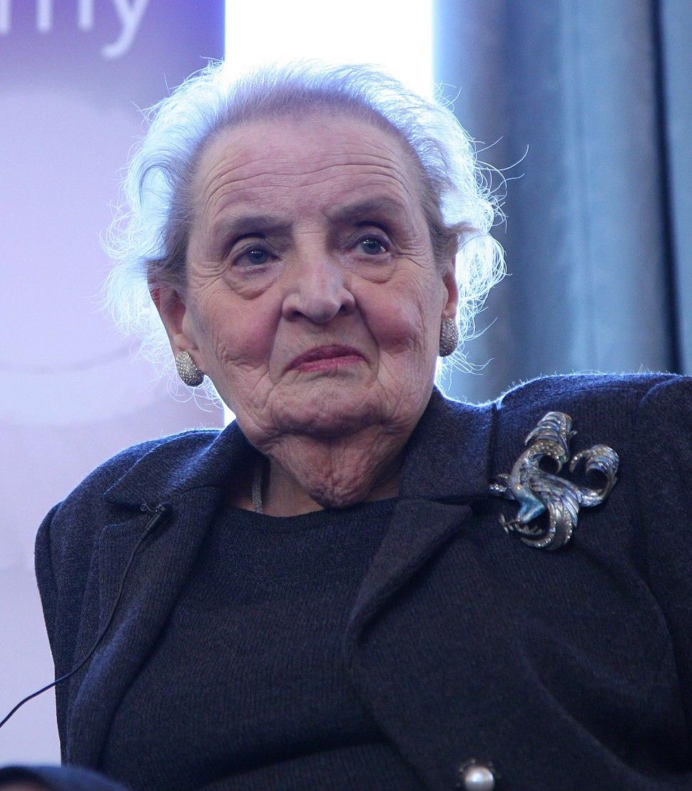 Madeleine Albright (16373736069) (cropped)