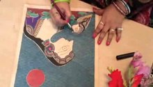 فائل:Madhubani Art with Bharti Dayal.ogv