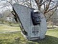 Madona, R. Blaumaņa piemineklis 2000-04-21 - panoramio.jpg