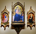 Madonna triptych by Alvaro Pirez d'Évora and Giovanni del Biondo, tempera and gold on wood - John and Mable Ringling Museum of Art - Sarasota, FL - DSC00563.jpg