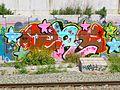Madrid - Puente de Vallecas - Graffiti 5.JPG