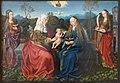 Maestro di francoforte, madonna col bambino, s. anna, caterina e barbara.JPG