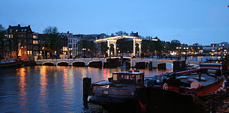 Amstelland - Image: Magere Brug in Amsterdam