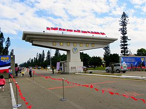 Ching Chuan Kang Air Base - Main gate of the ROCAF Ching Chuan Kang AB, 12 November 2011.