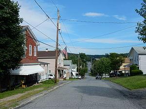 Schuylkill Township, Schuylkill County, Pennsylvania - Image: Main St, Mary D, Schuylkill Twp, Schuylkill Co PA 01