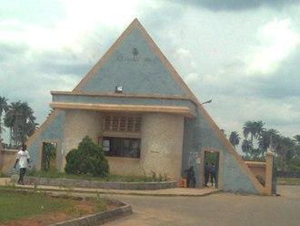 Delta State University, Abraka - Image: Main gate