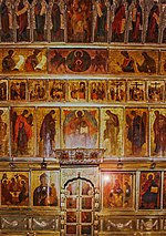 Main iconostasis of Trinity Cathedral in Sergiev Posad (2010s).jpg