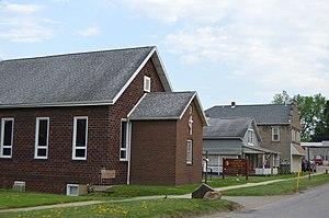 Bruin, Pennsylvania - Buildings on Main Street
