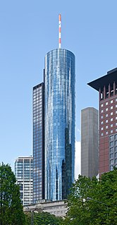 skyscraper in Frankfurt, Germany