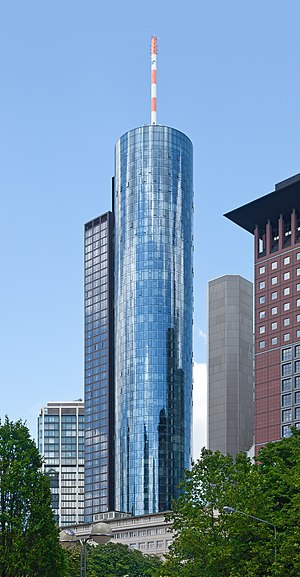 Maintower in Frankfurt, Germany