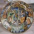 Maiolica di urbino, bottega dei fontana, enea, elena e venere, 1550 ca.jpg