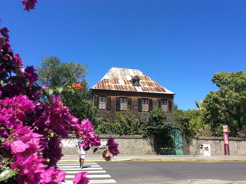 Maison du docteur Edwards à Saint-Louis, île de La Réunion
