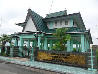 Prince Antasari - Antasari's burial site in Banjarmasin